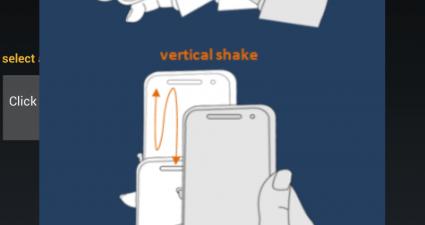 Shake tutorial