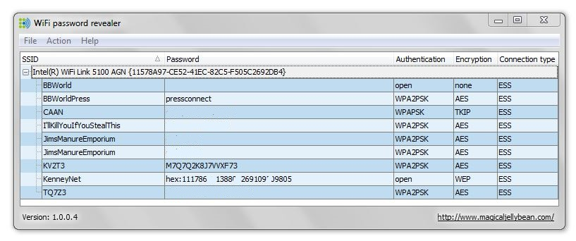 wifi password revealer 1.0.0.4