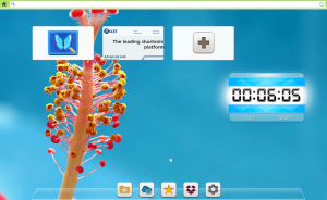 free desktop timer on top of a web browser