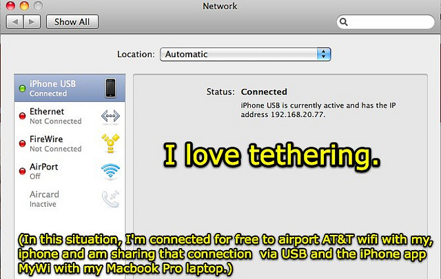 How to use WiFi tether on your Android smartphone or tablet