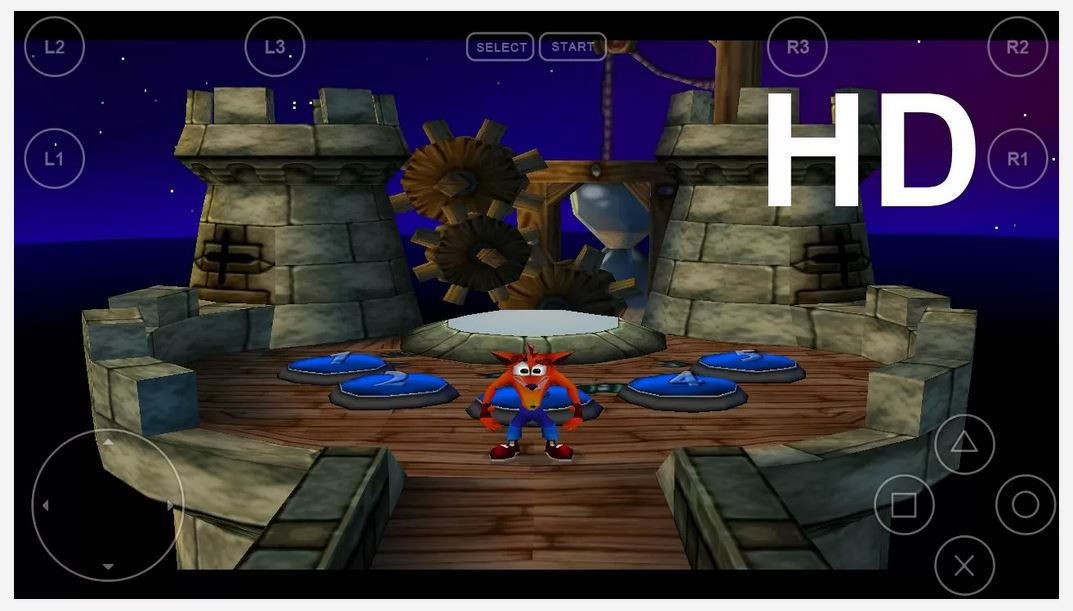 [RELEASE]CONSOLE GAMES EMULATOR FOR ANDROID FPse-Crash-Bandicoot