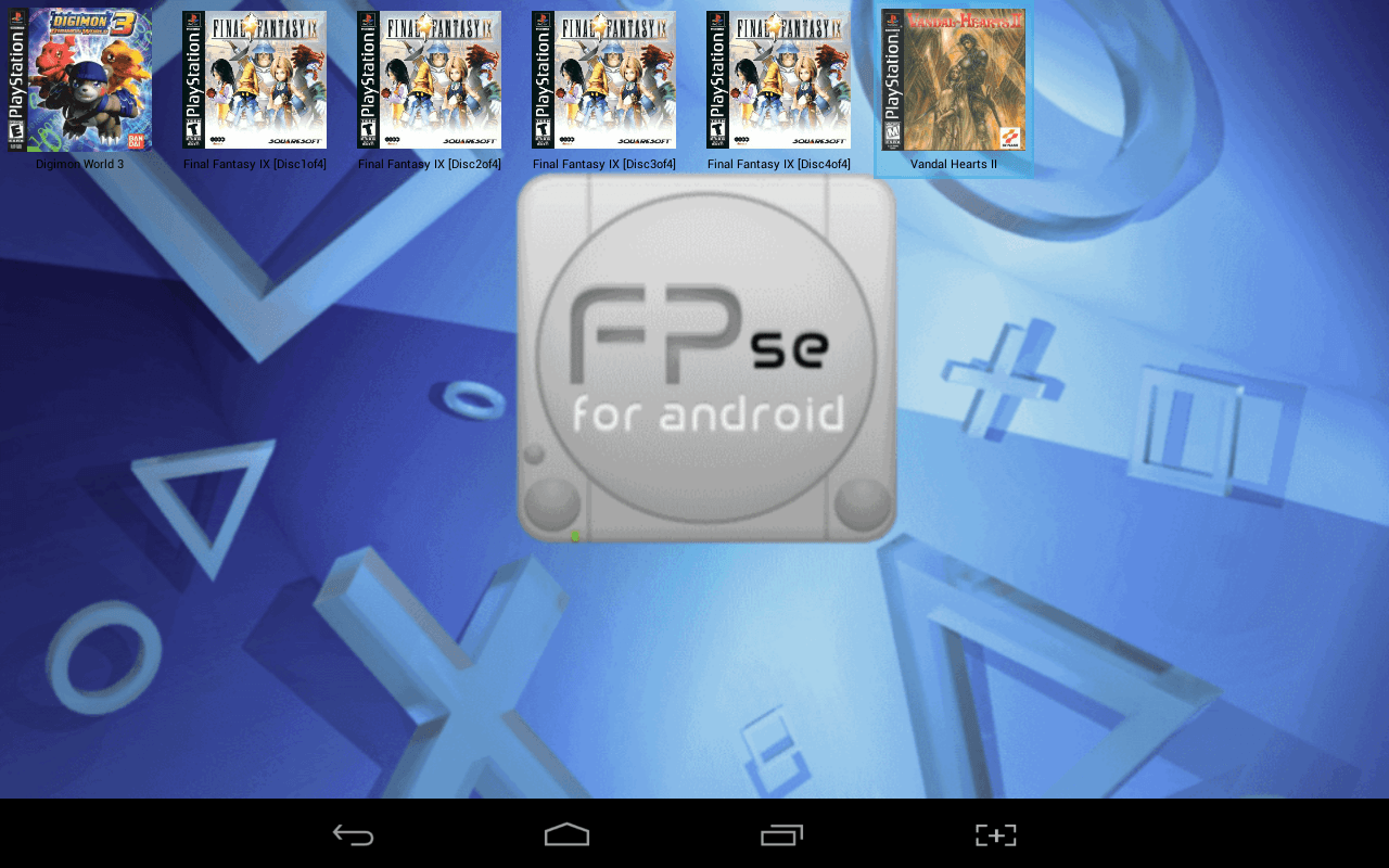 Android] FPse is a powerful PlayStation emulator for Android