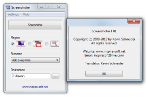 Screenshoter Software