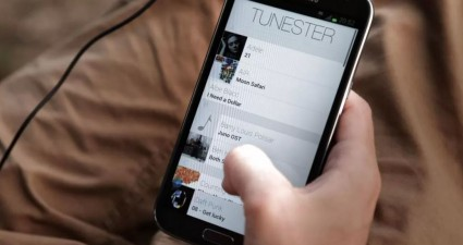 Tunester in use