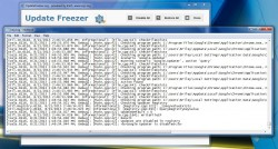 Update Freezer log file