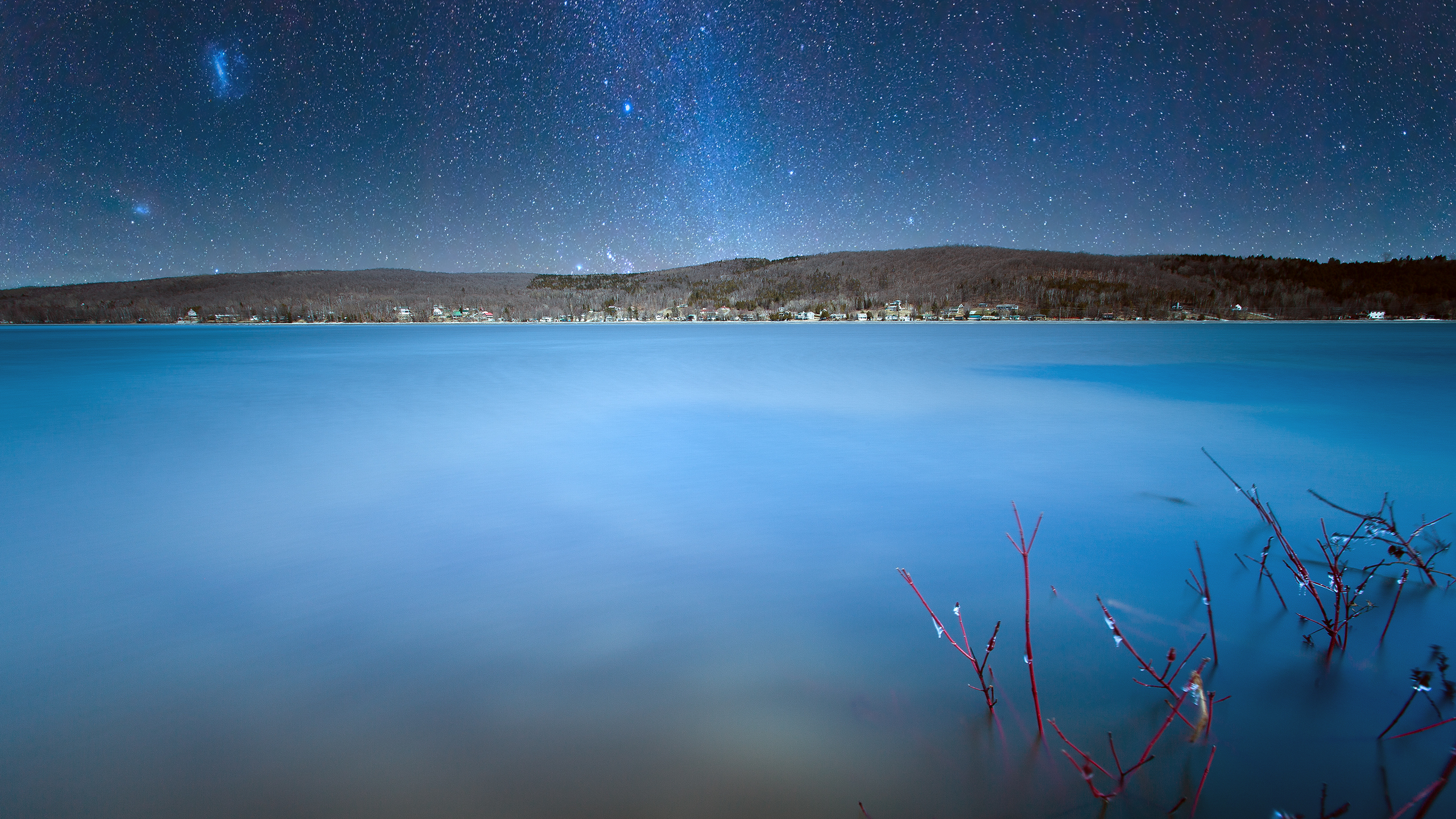 Lake William And The Milky Way Wallpaper Dottech