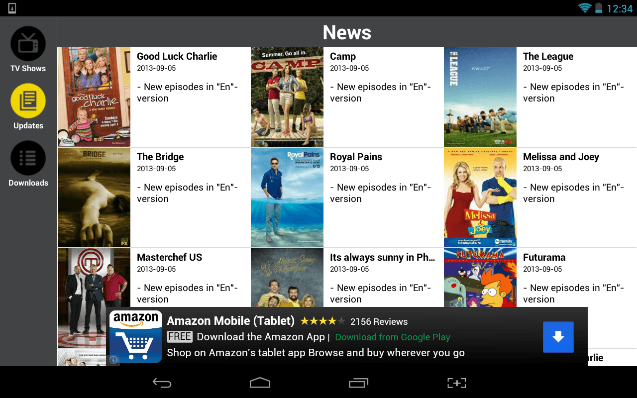 Android] Watch and download many TV shows for free with Show Box ...