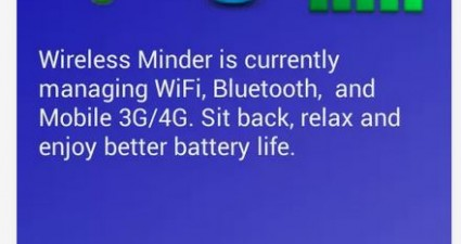 Wireless Minder UI