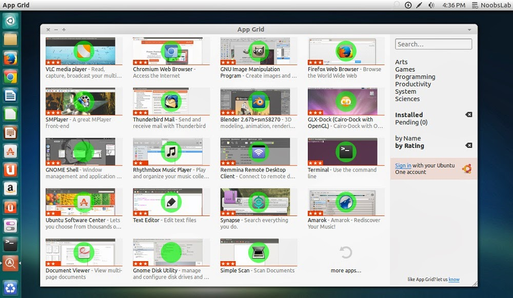 How to install App Grid on Ubuntu, an alternative to Ubuntu