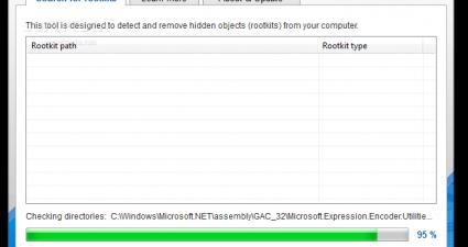 avg rootkit remover