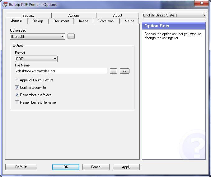 Windows] Best free PDF creator (printer or converter