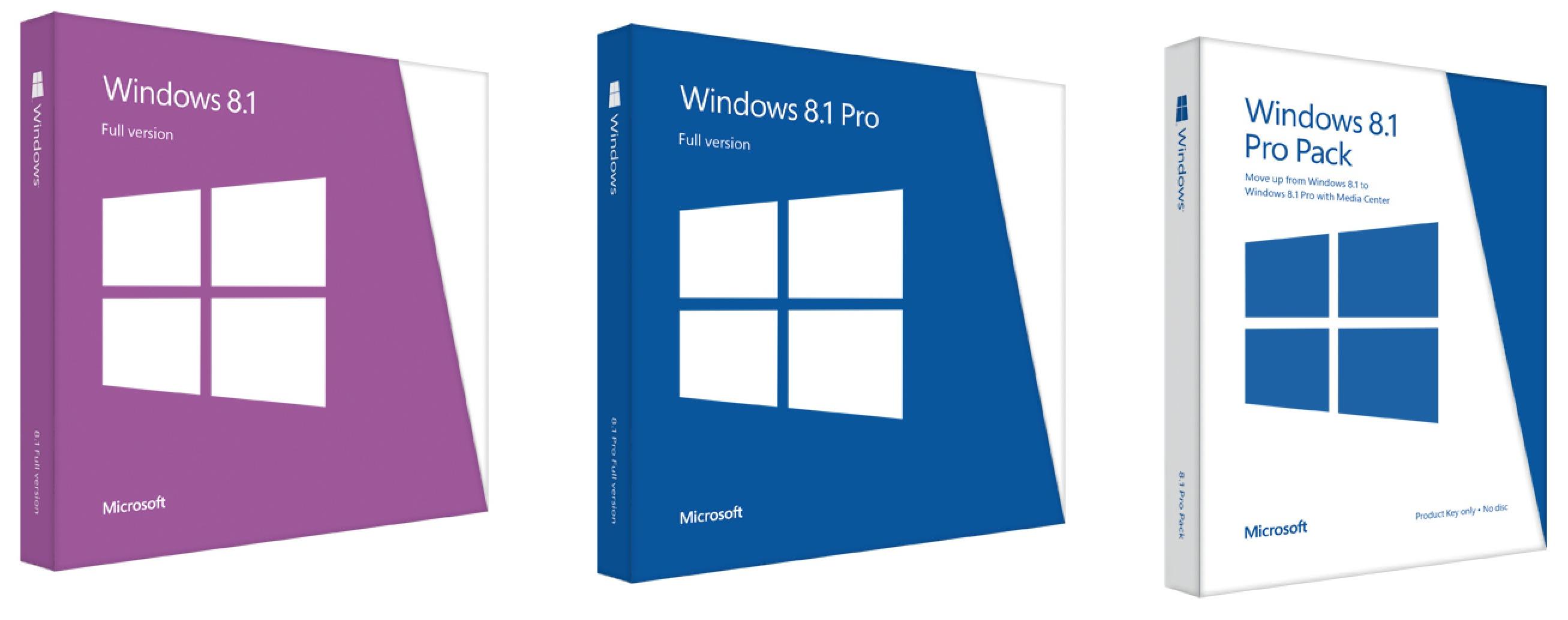 windows 8.1 pro media center pack