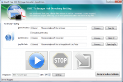 Boxoft Doc to Image Converter Hot Directory Mode