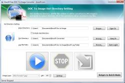 Boxoft Doc to Image Converter Hot Directory Mode