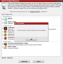 Smart Toolbar Remover Prompt
