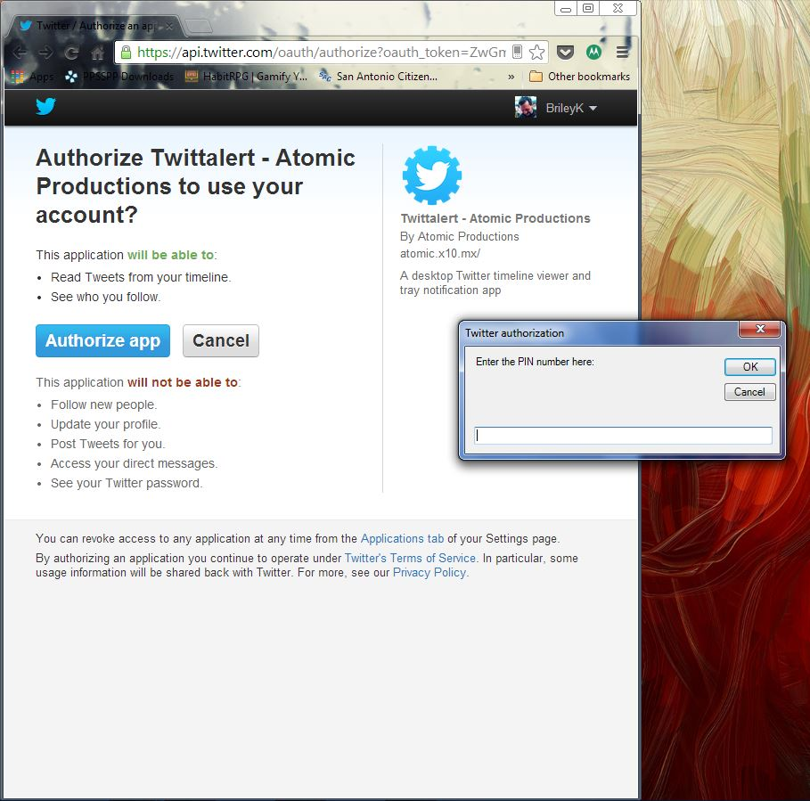 Windows] Twittalert displays full-featured notifications from a