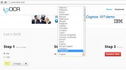 i2OCR language support