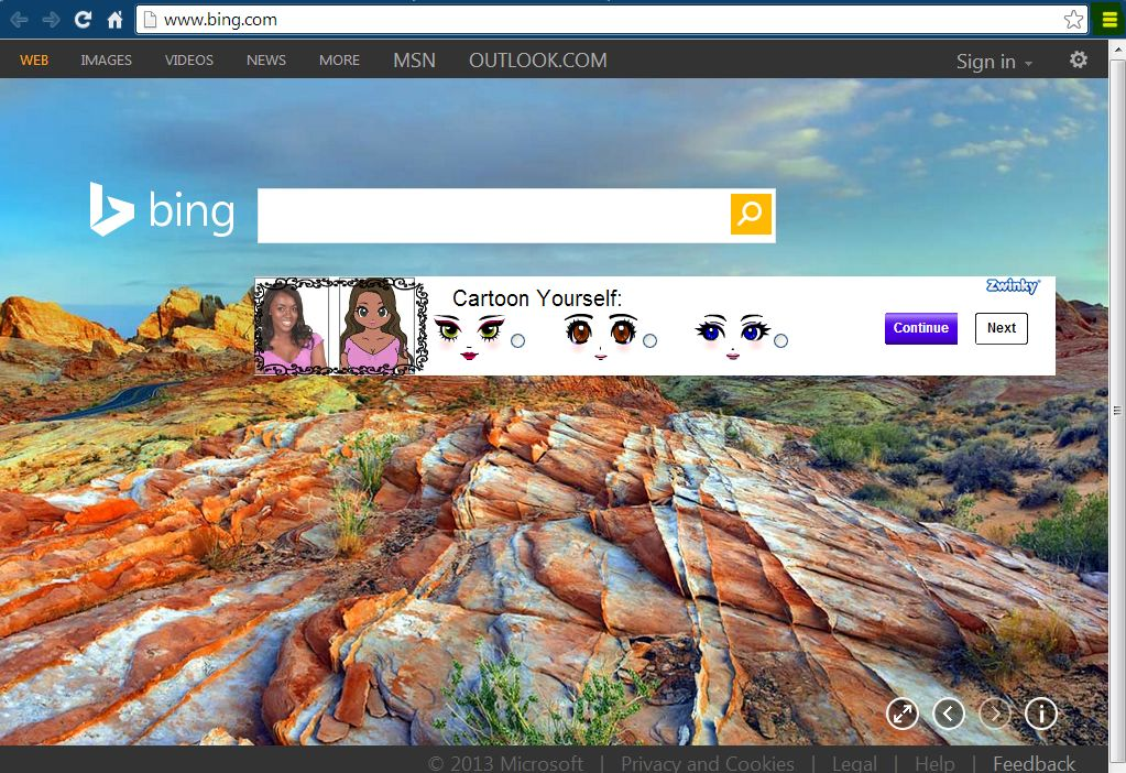 How To Use Bing Background Images On Google [Tip]