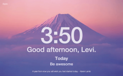 Momentum for Chrome Extension
