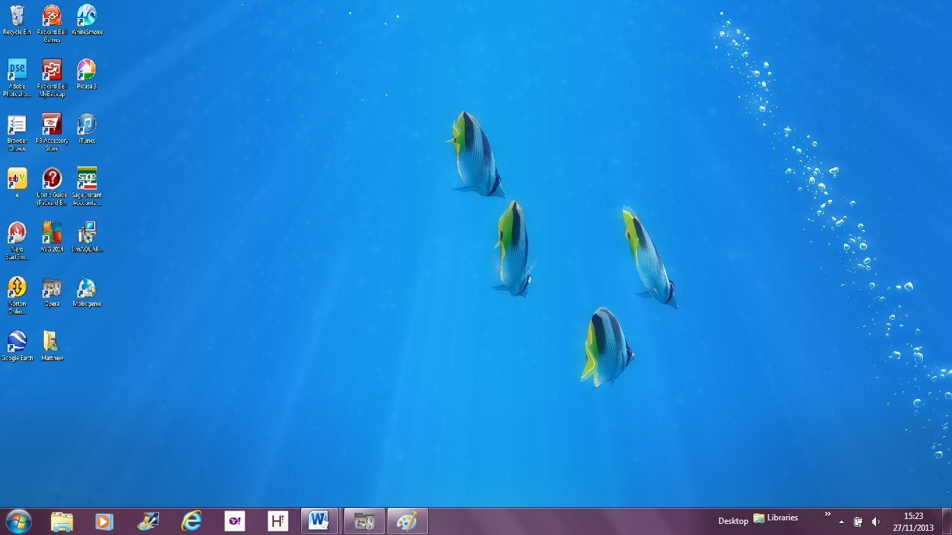 Fish aquarium live wallpaper - Sim Aquariium 3