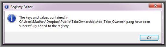 Take Ownership Added