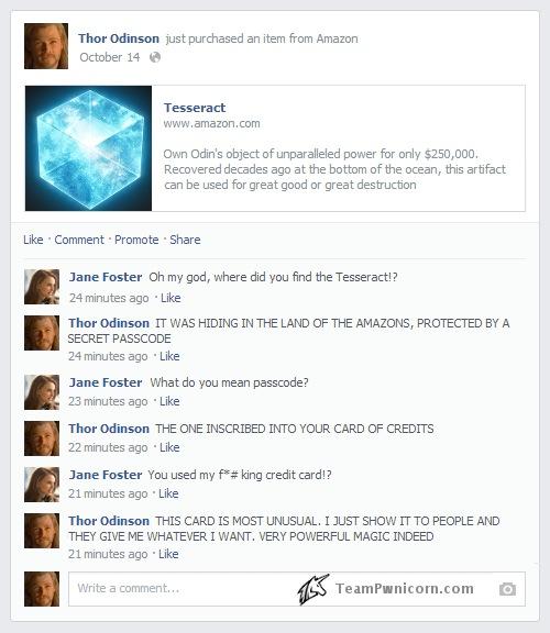 thor facebook