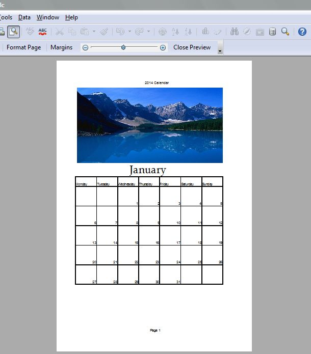 Calendar Spreadsheet 4