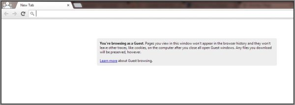 Guest Browsing Mode Chrome 4