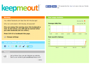 KeepMeOut for Web 2