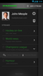Meople Streamer for Android