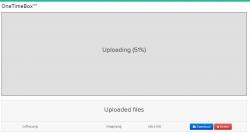 OneTimeBox File Sharing