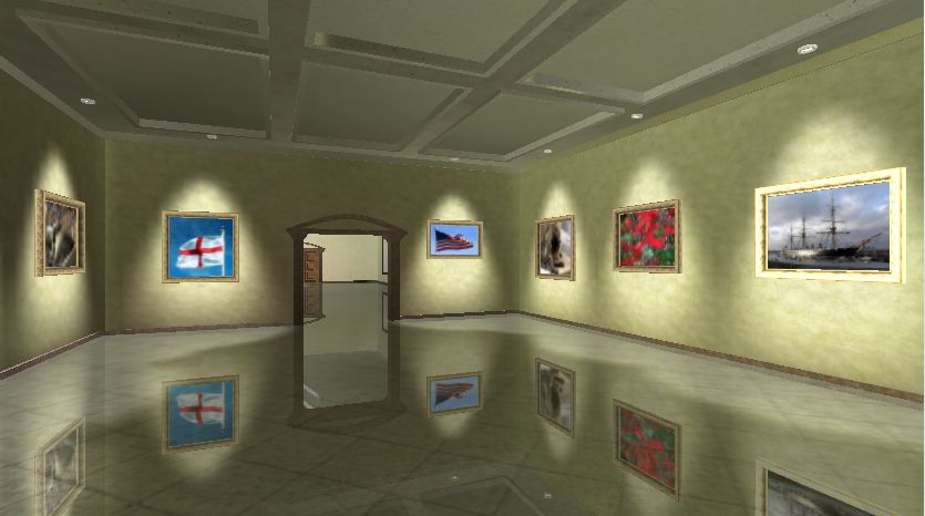 3d Exhibition Hall : How to create d museum like gallery with your photos and