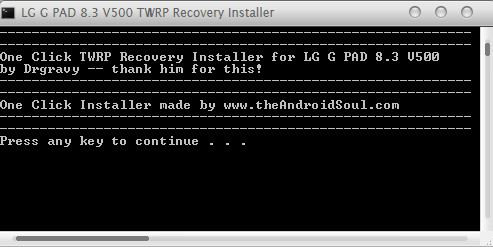 How to flash CWM or TWRP recovery on LG G Pad 8 3 [Guide] | dotTech
