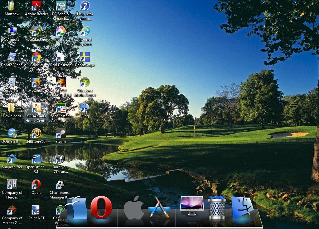mac dock for windows xp