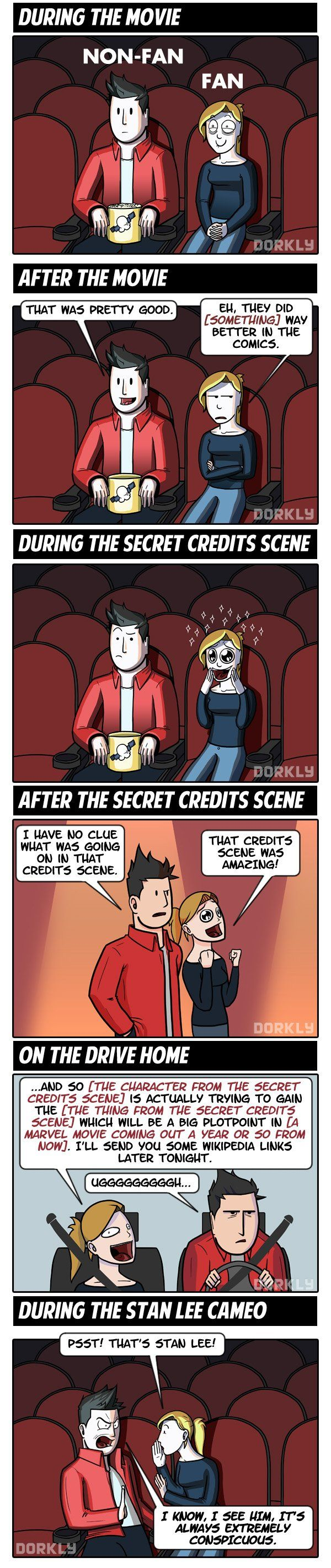 comic book fans