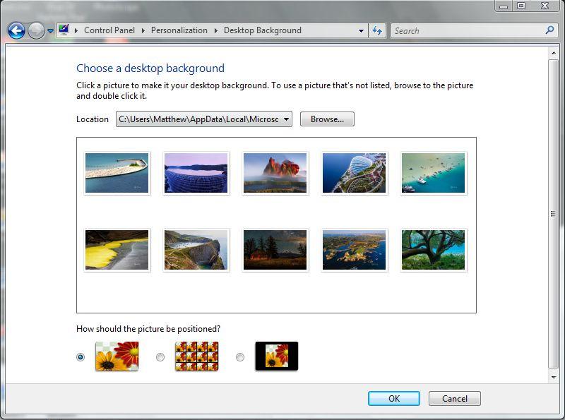 bing wallpaper downloader windows 7