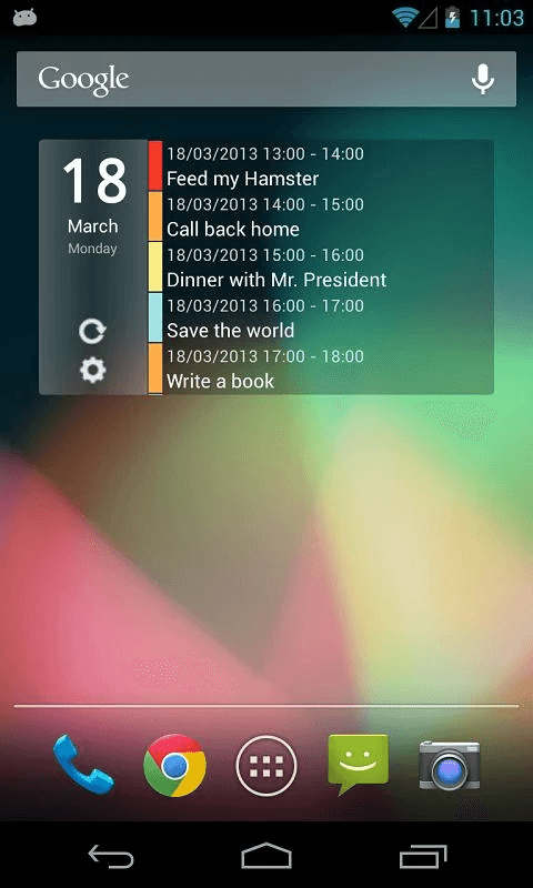 how to clear android contact list