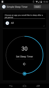 Super Simple Sleep Timer