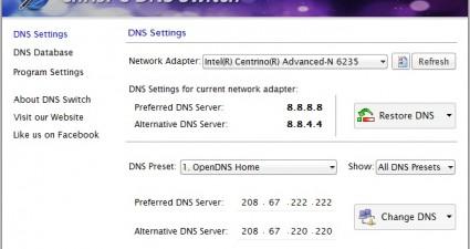DNS Switch