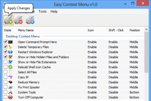 Easy Context Menu for Windows