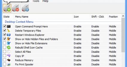 Easy Context Menu for Windows