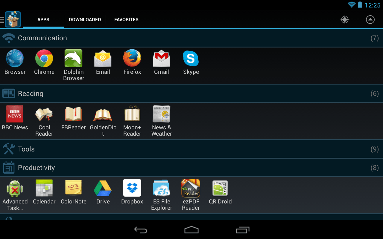 Glextor Manager Organizer For Android