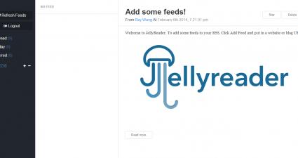 JellyReader for Web