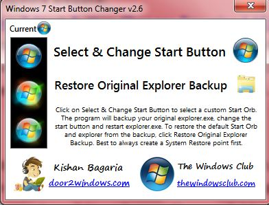 How to change Windows 7 Start orb [Tip] | dotTech