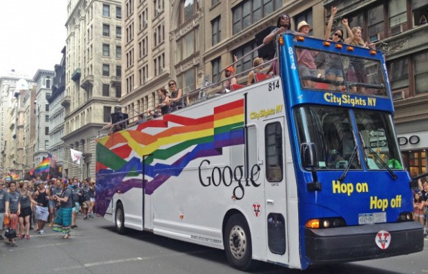 google-pride-nyc-bus