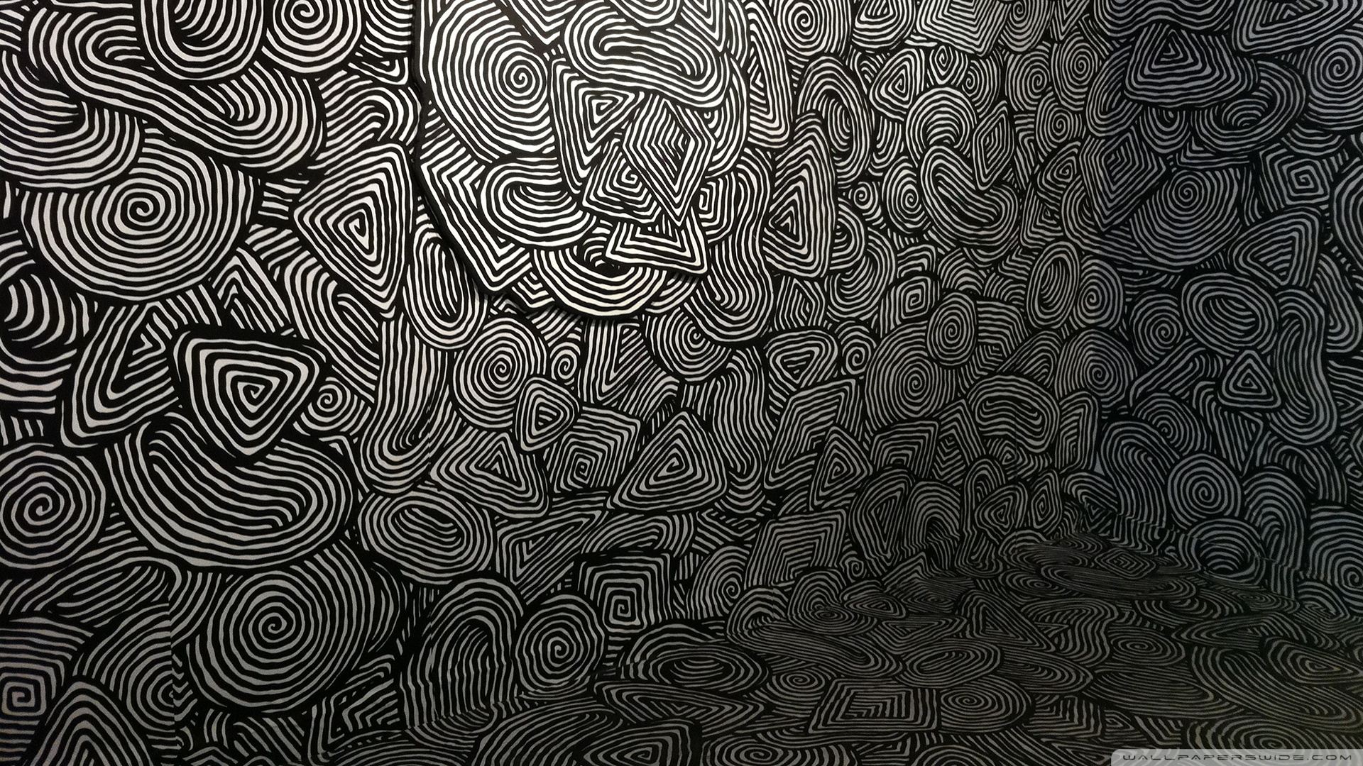 Mind Easer Psychedelic Pattern Wallpaper 1920x1080