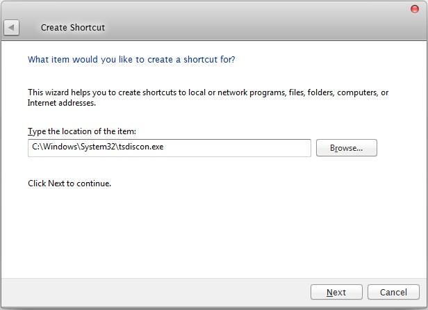 new shortcut