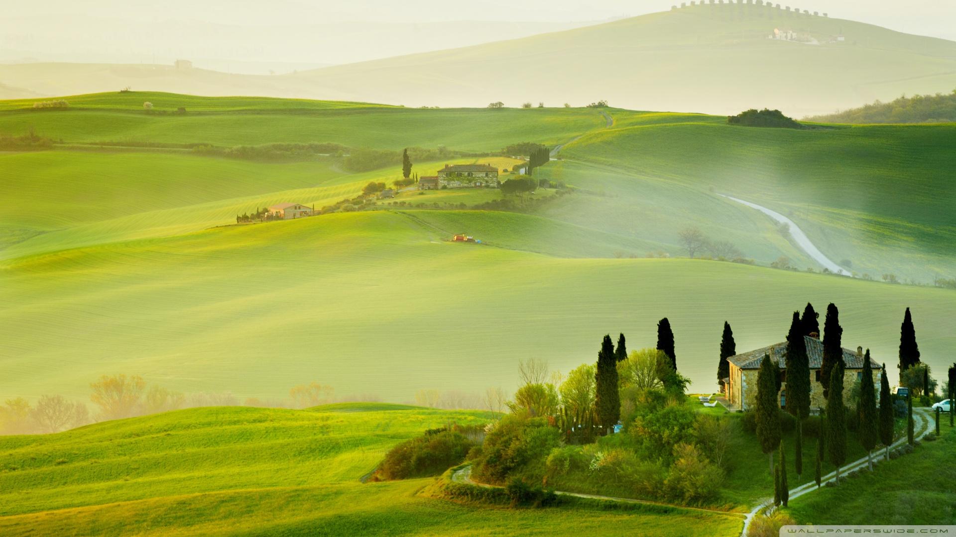 Tuscany spring [Wallpaper]   dotTech