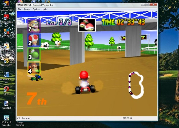 free game mario  for windows-xp-vista-7-8