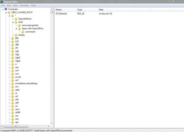Open with OpenOffice1